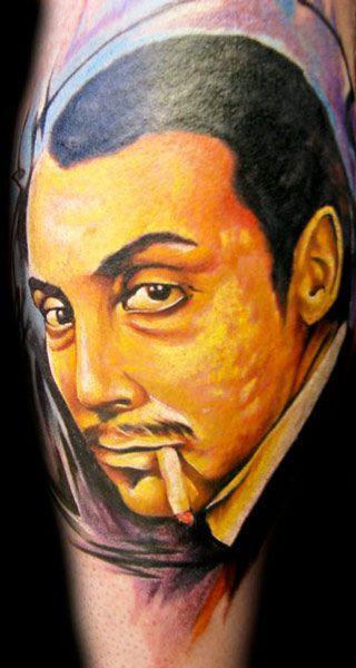 Man tattoo by Miroslav Pridal