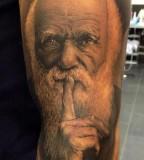 Meehow - No Regrets tattoo