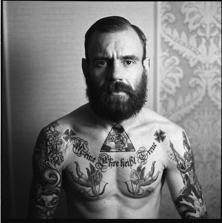 Men tattoo by Andrey Svetov