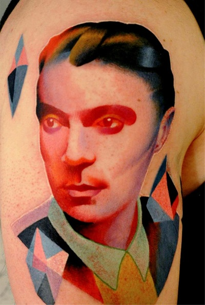 Men tattoo by Marcin Aleksander Surowiec