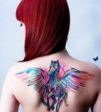 Miraculous horse tattoo