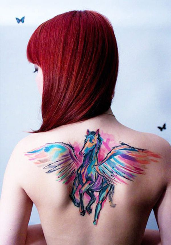 Miraculous horse tattoo