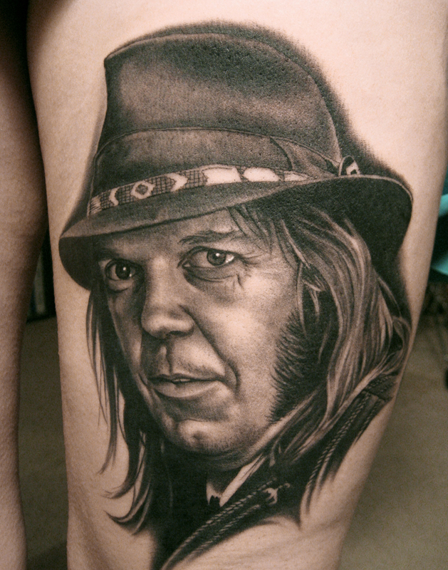 People tattoo by Bob Tyrell