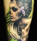 Scary women tattoo by Miroslav Pridal