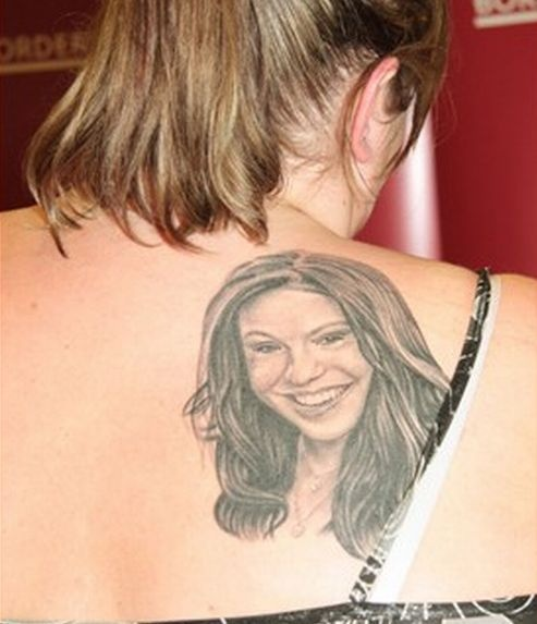 Serious fan tattoo
