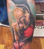 Soldier tattoo by Miroslav Pridal