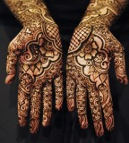 Stunning Bridal Mehendi tattoos