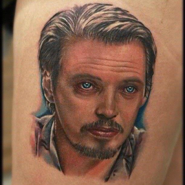 Stunning man tattoo by Rich Pineda