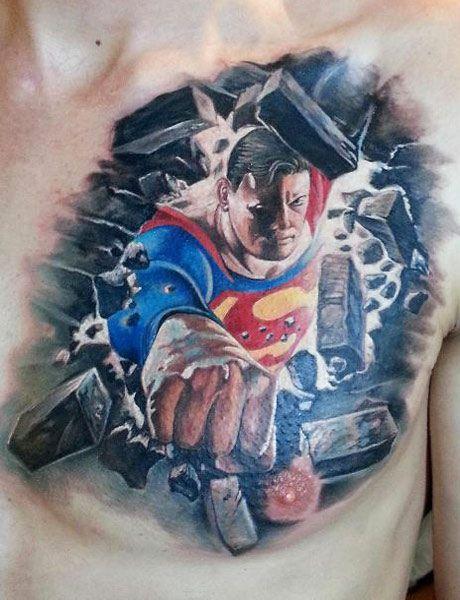 Superhero tattoo by Miroslav Pridal - | TattooMagz › Tattoo Designs ...