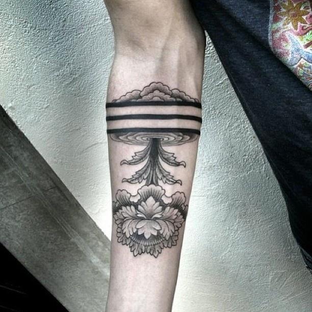 Tree tattoo by Chaim Machlev