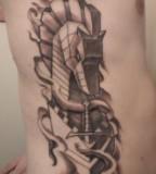 Troy horse tattoo