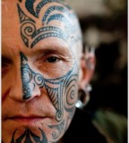 Unique Face Tattoo Designs For Man