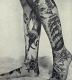 Vintage traditional tattoos