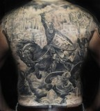 War horse tattoo