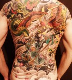 Wonderful dragon tattoo
