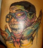 Zombie Jaleel White tattoo