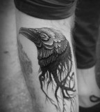alex tabuns bird head tattoo