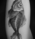 alex tabuns fish tattoo