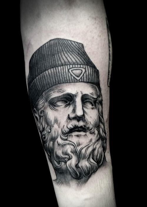 alex tabuns sculptural tattoo