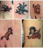 animals tattoo1