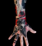 buena vista tattoo club arm and hand sleeve