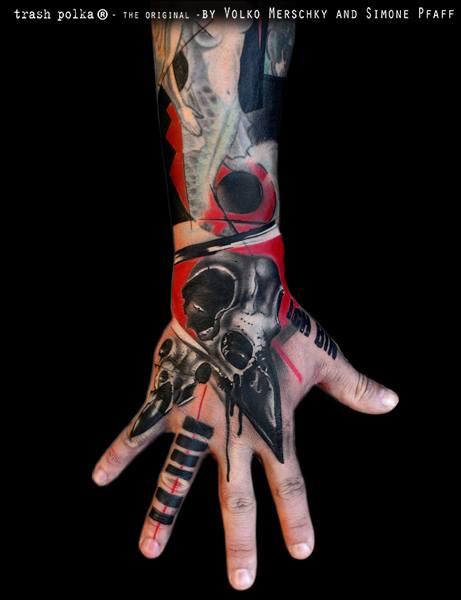 buena vista tattoo club arm and hand sleeve