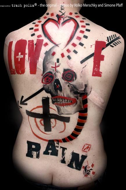 buena vista tattoo club love and pain full back piece