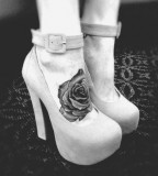cute rose tattoo