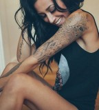 cute women tattoo