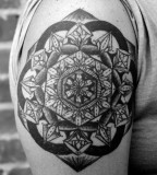 david hale tattoo mandala on arm