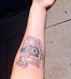 dreamer camera tattoo