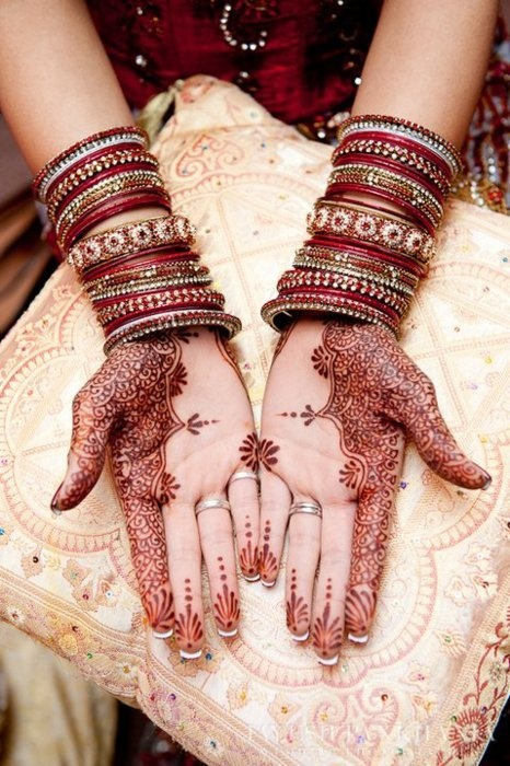 henna design tattoos for the south asian bride