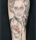 jessica mach tattoo lady with pipe