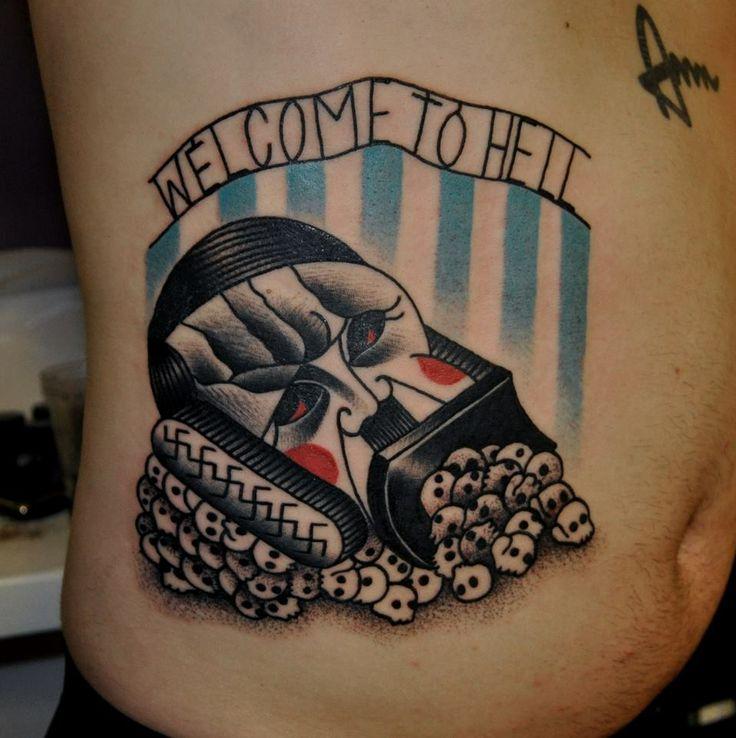 marcin aleksander surowiec tattoo welcome to hell