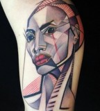 marie kraus tattoo beautiful woman