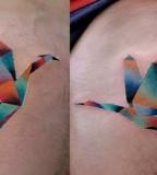 mariusz trubisz flying cranes tattoos