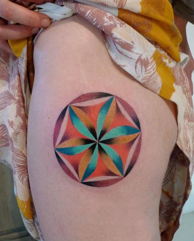 mariusz trubisz mandala tattoo