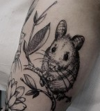 mouse tattoo animals