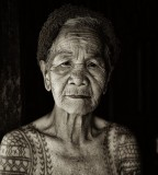 old women tattoo