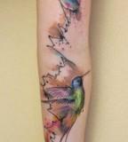 ondrash tattoo bird sleeve