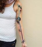 ondrash tattoo cosmic sleeve