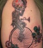 original skull tattoo