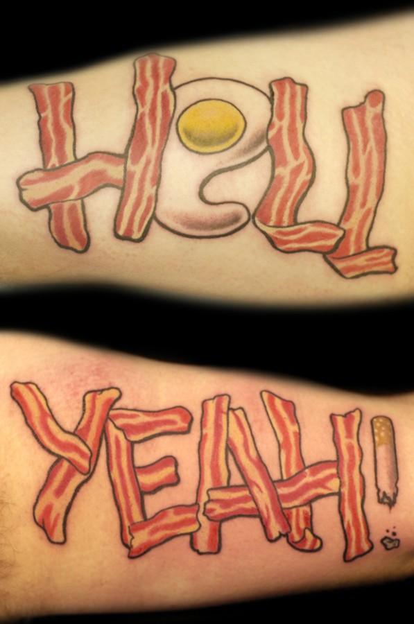 pop art tattoo by cavan infante hell yeah