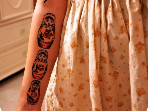 Russian doll tattoos