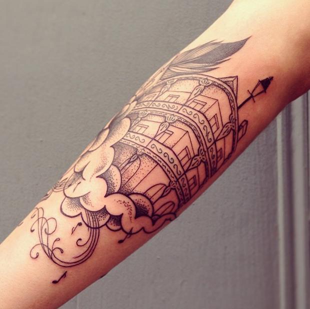 supakitch tattoo building
