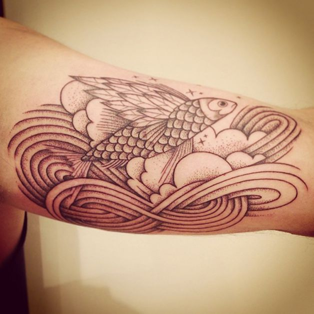 supakitch tattoo fish