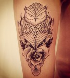 supakitch tattoo owl