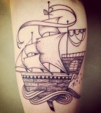 supakitch tattoo ship