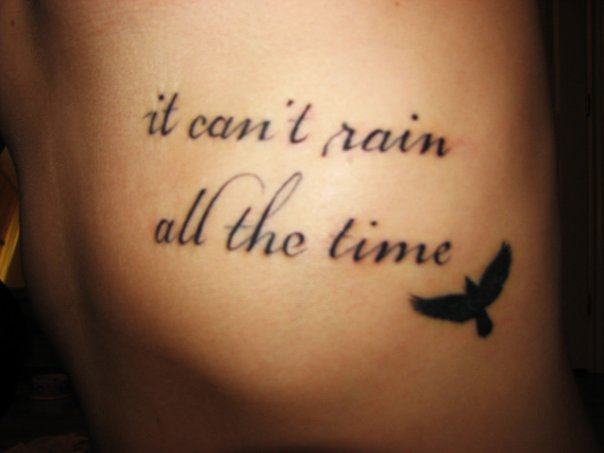 sweet words tattoo