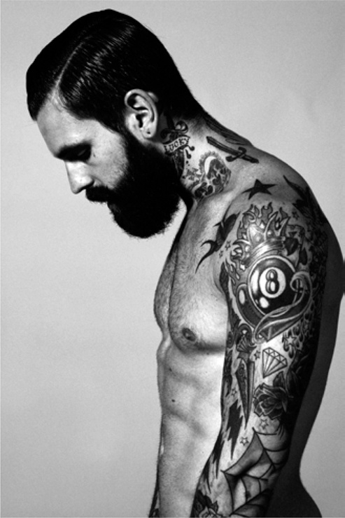 tattoos for men neck and arm work